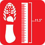 Shoe size measurement