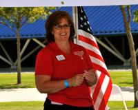 Laura Mayo, Regional Director for Special Olympics Santa Clarita Valley and Tri-Valley.
